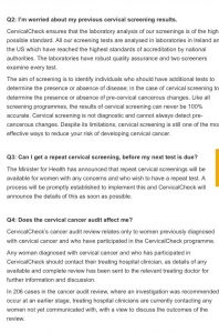 cervical check website
